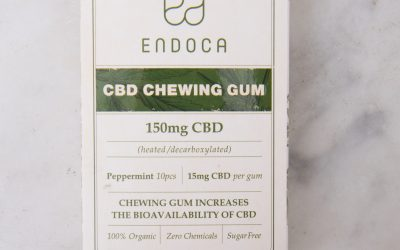 CBD Chewing Gum For Mom Stress Relief