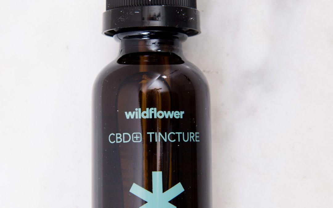 Wildflower Pure CBD Tincture 500mg