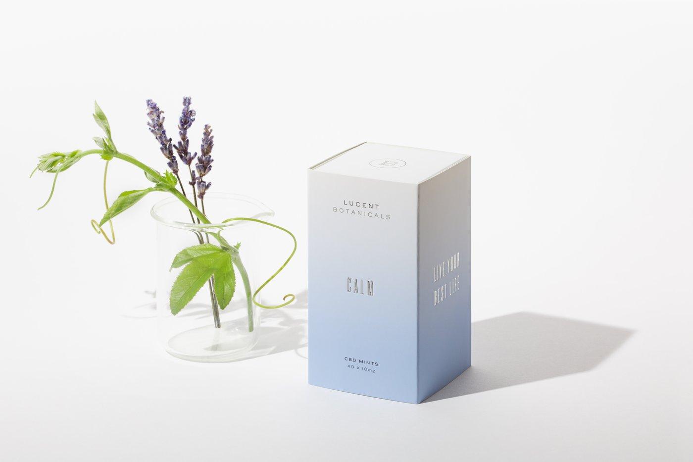 Lucent Botanicals Calm CBD Mints | Calm Better Days