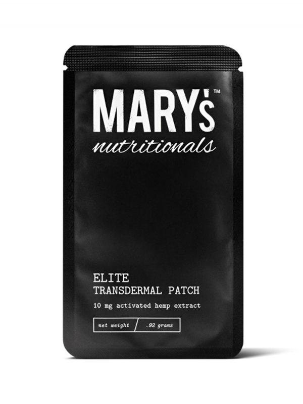 Marys Nutritionals CBD Transdermal-Patch
