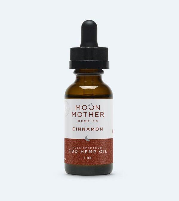 Full Spectrum Hemp Oil Tincture Cinnamon