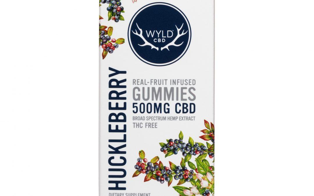 Wyld Huckleberry 500mg CBD Edible Gummies
